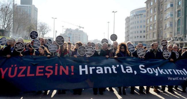 Şişli'de Hrant Dink'in anma yürüyüşü