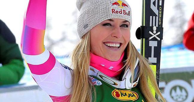 ABD'li kayakçı Vonn tarihe geçti