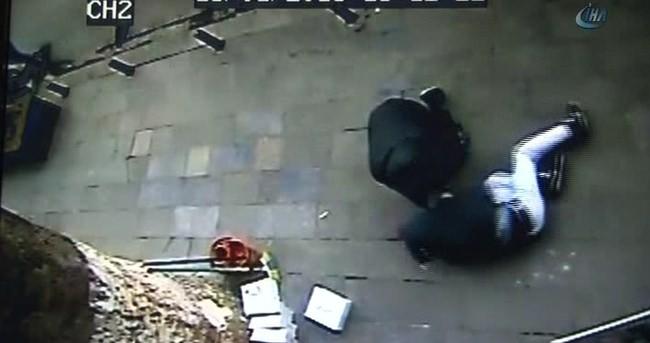 Beyoğlu'nda eylem hazırlığındaki terörist böyle yakalandı