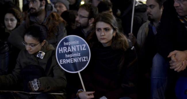 Hrant Dink Beyoğlu ve Kadıköy'de anıldı