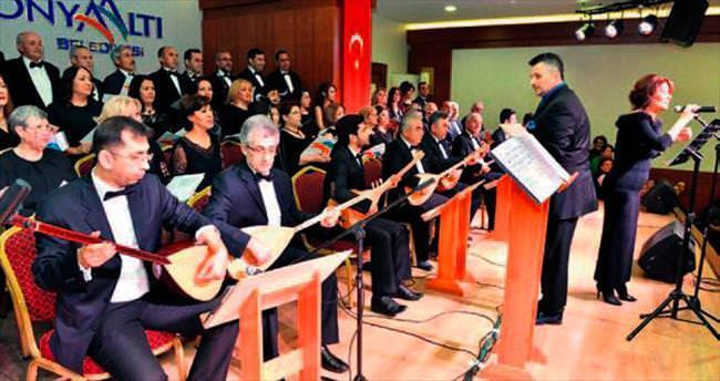Halk müziği ziyafeti