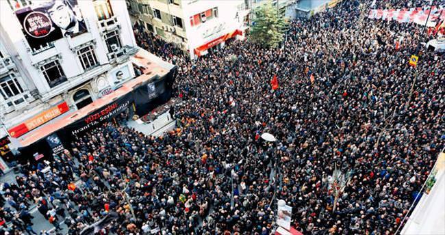 Hrant için binler yürüdü