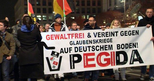 Almanya'da PEGİDA protestosu
