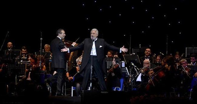 Placido Domingo'dan İstanbul'da muhteşem konser