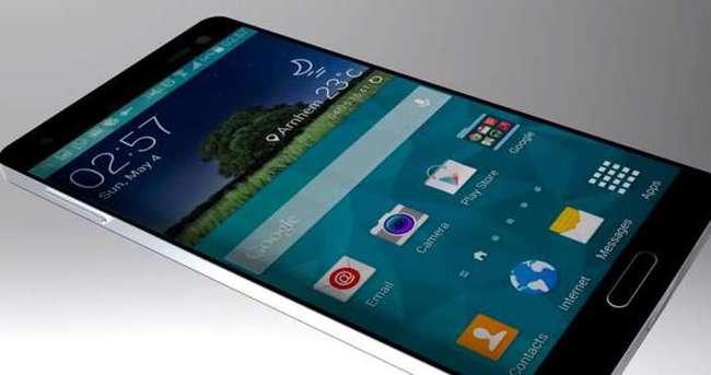 Galaxy S6'dan parmak izi tarama