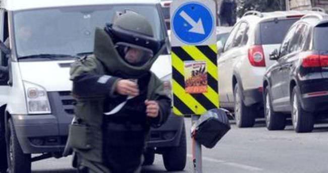Sarıyer'de bomba paniği