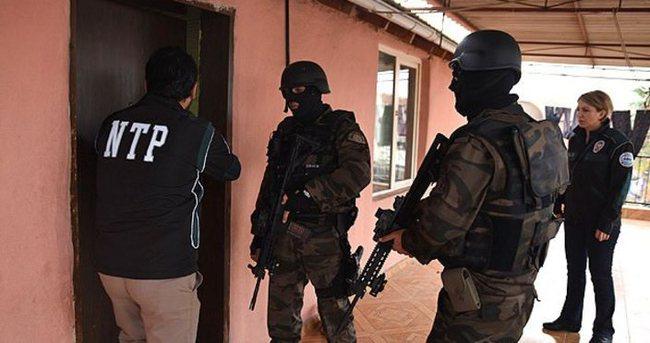 Antalya'da 420 polisli dev uyuşturucu operasyonu