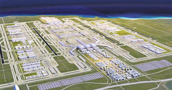 Üçüncü havalimanı için dev kredi anlaşması Mayıs'ta yapılacak