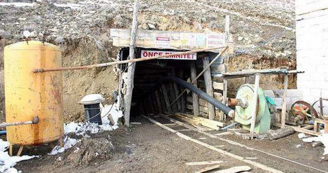 Sivas'ta maden ocağında göçük