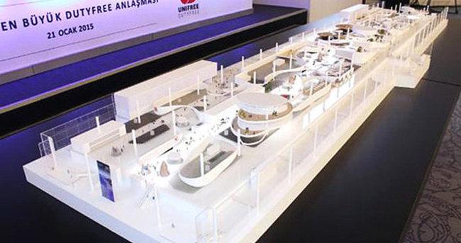 Dünyanın en büyük gümrük satış reyonları İstanbul'da açılacak