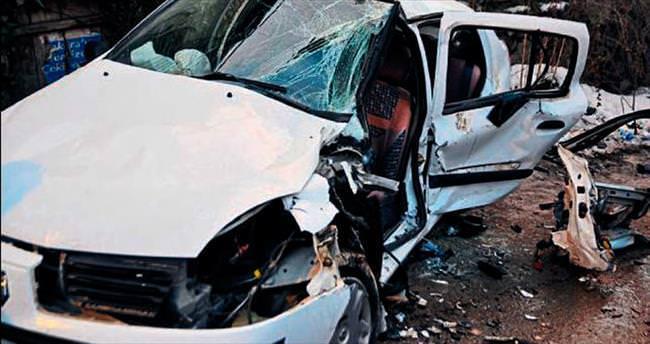 Başkent yollarında yine kaza yaşandı