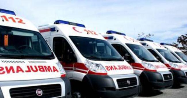 Ambulanslara kameralı sistem