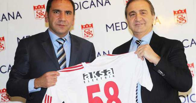Sivasspor, Medicana'yla imzaladı