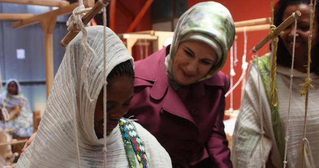 Emine Erdoğan Etiyopya Ulusal Müzesi'ni ziyaret etti