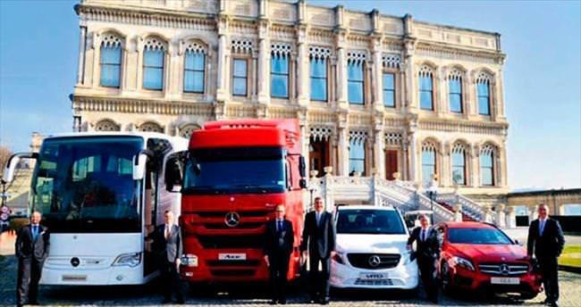 Mercedes'ten 2015'te 77 milyon euroluk yatırım