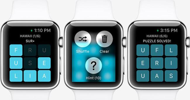Apple Watch için ilk oyunlar hazır