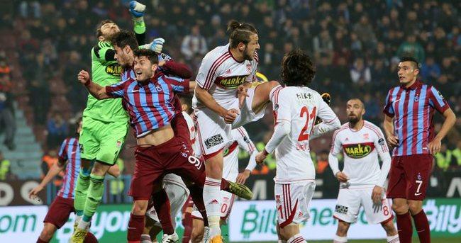 Trabzonspor'dan gollü galibiyet