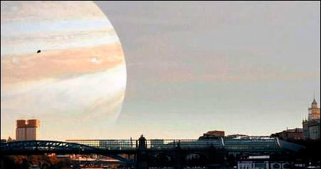 Jüpiter, Ay kadar yakın olsaydı...