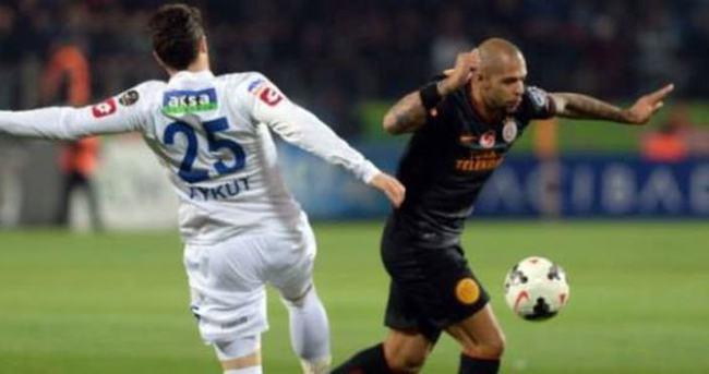 Galatasaray Çaykur Rizespor'a acımadı