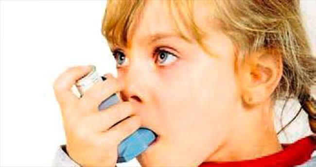 Çocuklarda en sık astım görülüyor