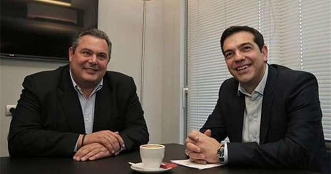 SYRİZA Bağımsız Yunanlılar ile koalisyonda anlaştı