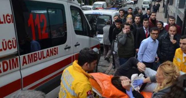 Şişli'de iş merkezine saldırı