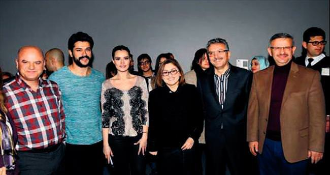 Filmini memleketi Antep'te tanıttı