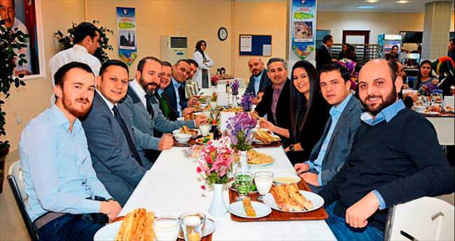 ANFA personeli Samsun lezzetleriyle buluştu