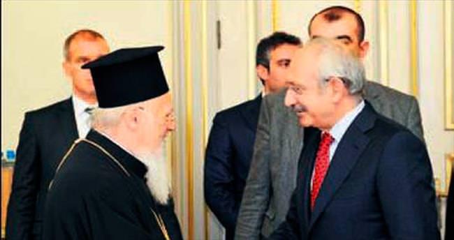Kılıçdaroğlu, ruhani liderlerle buluştu