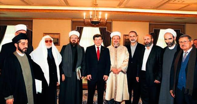 Davutoğlu, Barış Grubu üyelerini kabul etti