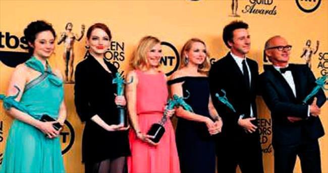 Oscar habercisi SAG ödülü Birdman'e