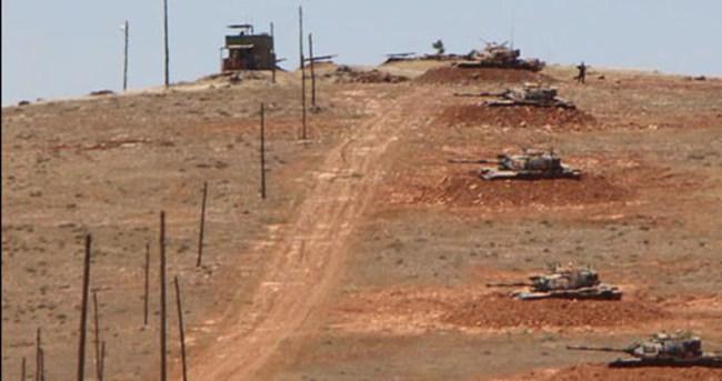 Suriye sınırında gerginlik