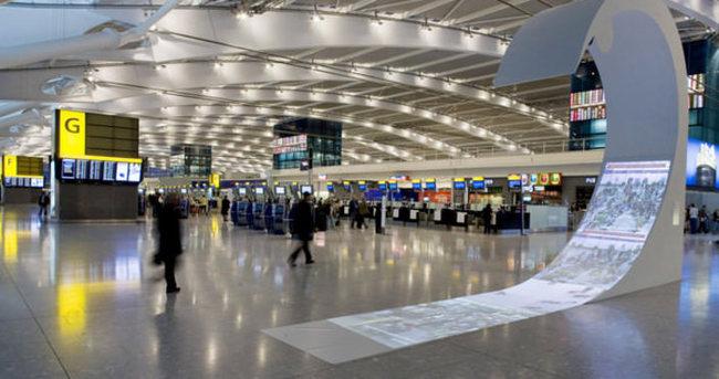 Londra Havalimanı boşaltıldı