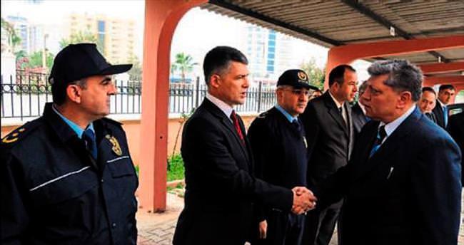 Mersin'in güvenliği Baştuğ'a emanet