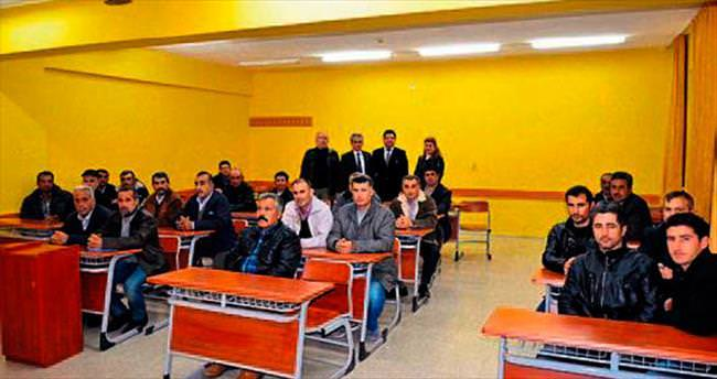 Tarsus'ta ustalara eğitim