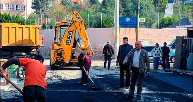 İskenderun'da bütün mahalleler asfaltlanıyor