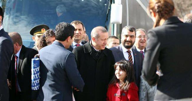 Cumhurbaşkanı Erdoğan Kırşehir'de coşkuyla karşılandı
