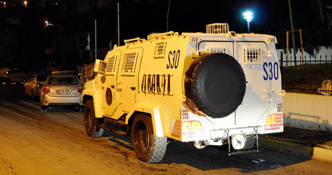 Maltepe'de gece yarısı terör operasyonu
