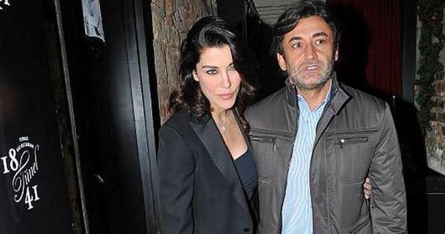 Deniz Akkaya sevgilisi Murat Varol'dan mutluluk pozu