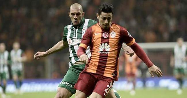 Galatasaray-Bursaspor karşılaşmasından notlar