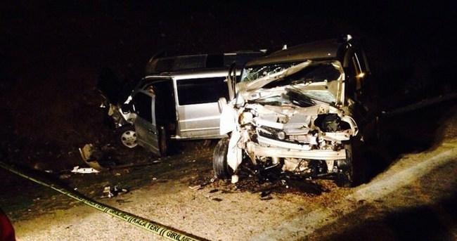 İl genel meclisi başkanı trafik kazası geçirdi