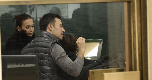 Mustafa Sandal'ın eşi ile alışveriş keyfi