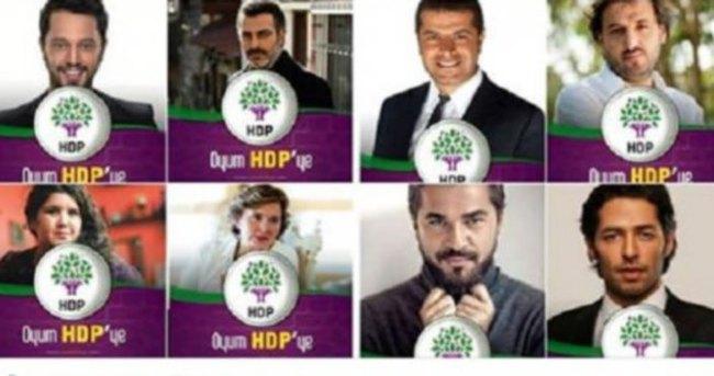 HDP ünlü sanatçıları kullanarak manipülasyon yaptı