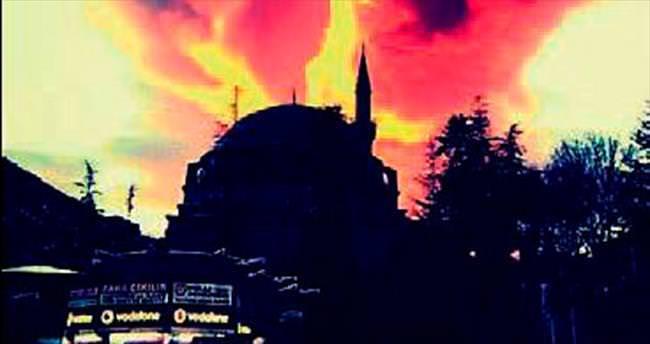Tokat'ta tablo gibi gökyüzü manzarası