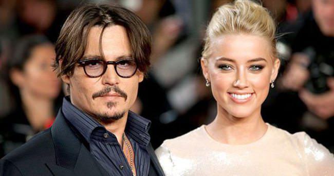 Johnny Depp ve Amber Heard evleniyor