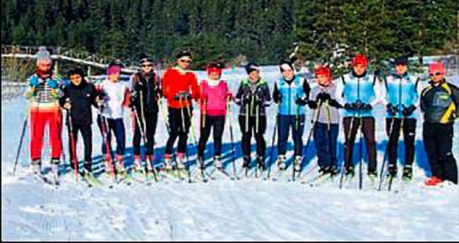 Büyükşehir'in kayak takımı iddialı