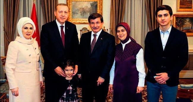 Erdoğan ailesinden Davutoğlu ailesine iade-i ziyaret