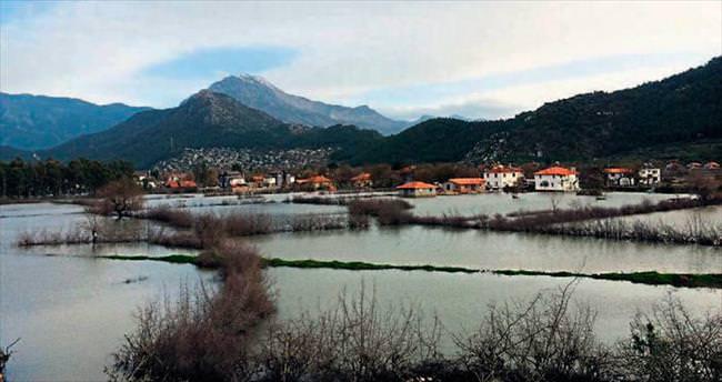 Kayaköy'dü 'Göl'köy oldu