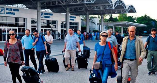 Ocak turistleri 100 bini bulmadı