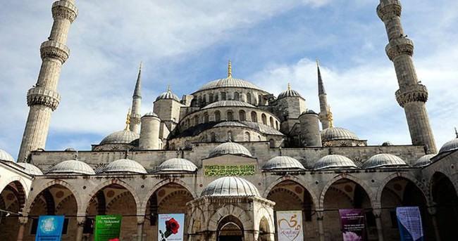 Sultanahmet Camisi kontrolden geçirildi